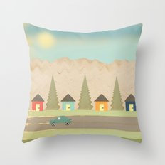 The Drive Throw Pillow