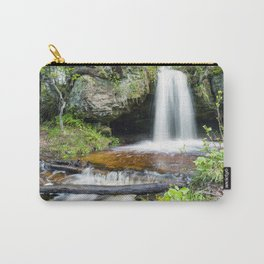 Scott Falls in Spring - Au Train Michigan Carry-All Pouch