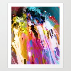 Self-Conscious Sparks Art Print