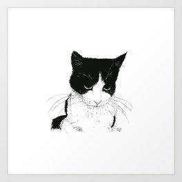 Curie Art Print