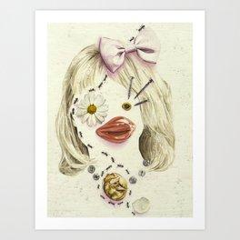 Eggbound  Art Print