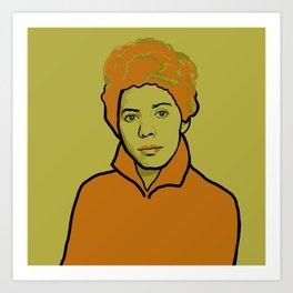 Lorraine Hansberry Art Print