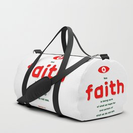 Certain of What We Do Not See Duffle Bag