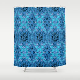 Intricate High Definition Magic Lace Print Shower Curtain