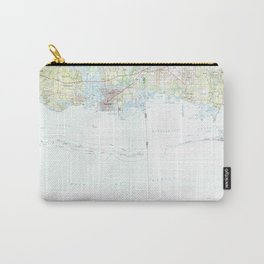 MS Biloxi 337194 1982 topographic map Carry-All Pouch