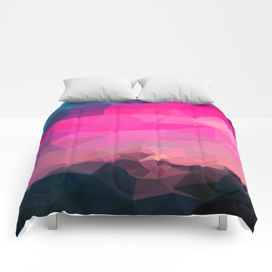 Poly-Sunrise  Comforters