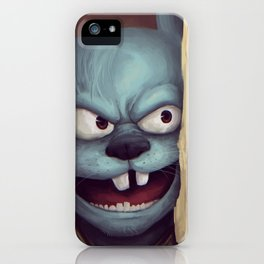 Heeeeere is Itchy!!!! iPhone Case