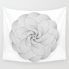 Mandala circle Wall Tapestry