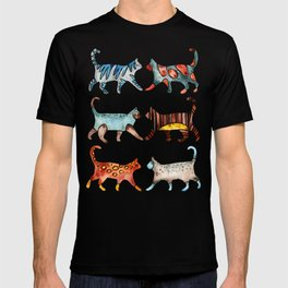 Cat Collection: Watercolor T-shirt