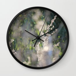 On The Sunny Side of Life Wall Clock