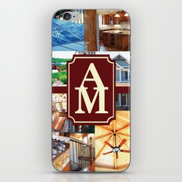 A&M Building Gear iPhone Skin