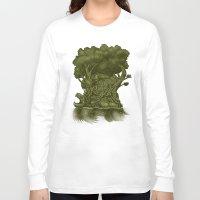atlas Long Sleeve T-shirts featuring Atlas by Nick Volkert