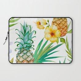 tropical pineapple Laptop Sleeve