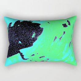 Ocean green wave, pantone 2017 Rectangular Pillow
