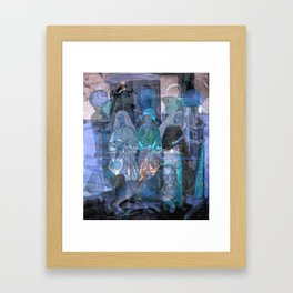 three Graces Framed Art Print
