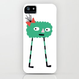 Crazy Legs iPhone Case