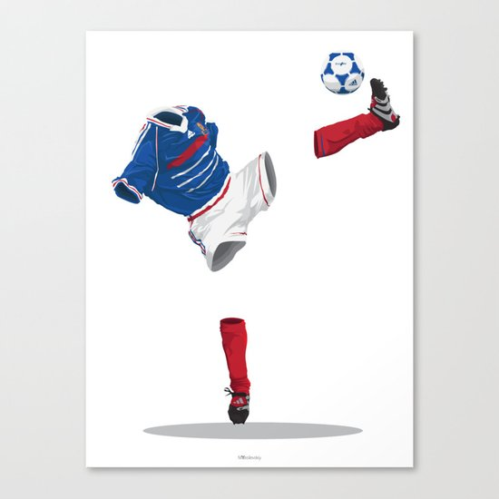 France 1998 - World Cup Winners Canvas Print