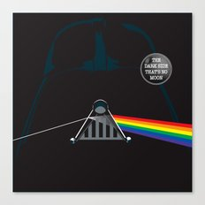 The Dark Side... That's No Moon! Canvas Print