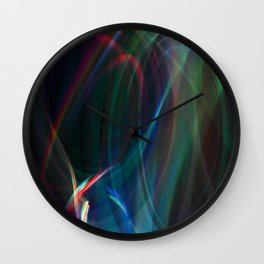 Hearts Joined Wall Clock