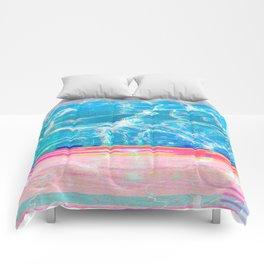 Water Glitch Comforters