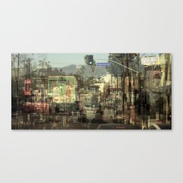 Sunset Boulevard, Los Angeles Canvas Print