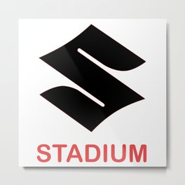 Stadium Tour Metal Print