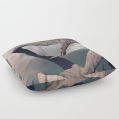 Suspended reflection Floor Pillow