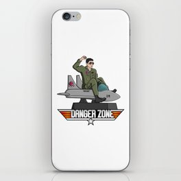 Danger Zone iPhone Skin
