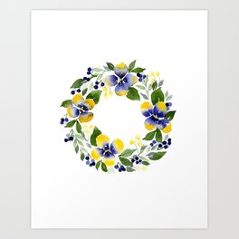 You're Such A Pansy Art Print