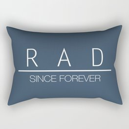 Rad Since Forever Asphalt Rectangular Pillow