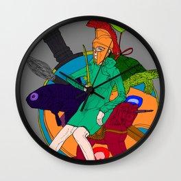 Spartanista Wall Clock