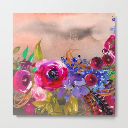 Flowers Bouquet 87 Metal Print