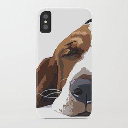 Workin' like a Dog iPhone Case
