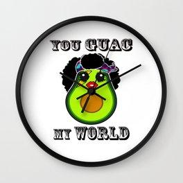 You gauc my world Wall Clock