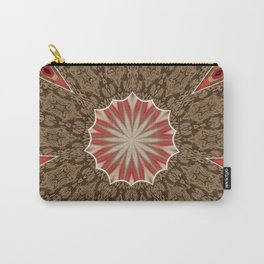 Year End Patch Mandala Carry-All Pouch