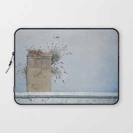 Chimney Pots and Cloudy Skies Laptop Sleeve