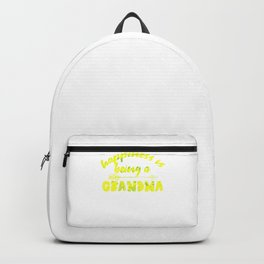 Happiness Is Being A Grandma yg Backpack
