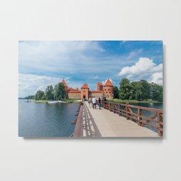 Trakai Island Castle Metal Print