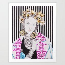 Untitled Collaborative 02 Art Print