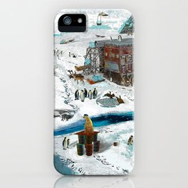 Save the Ice iPhone Case