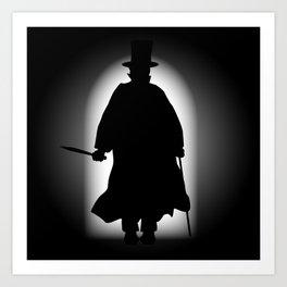 Jack the Ripper Art Print