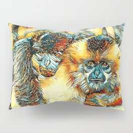 AnimalArt_Gibbon_20170901_by_JAMColorsSpecial Pillow Sham
