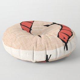 Noodle Shrimp Pearl Floor Pillow