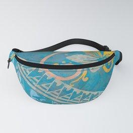 Ocean Splash Tribal Threads Fanny Pack