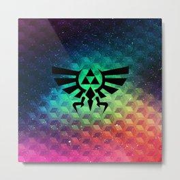 Zelda triforce Metal Print
