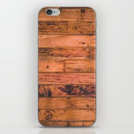 Wooden Floor Planks iPhone Skin