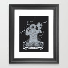 Ghost Of Nemo Framed Art Print