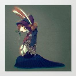 Bunny Doll Canvas Print