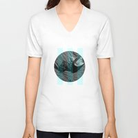 jelly fish V-neck T-shirts featuring Jelly Fish by Paul Vayanos