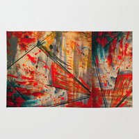 runner Area & Throw Rugs featuring Kite Runner by CMYKulaga